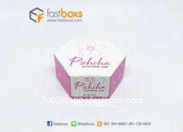 กล่องสบู่สีชมพู