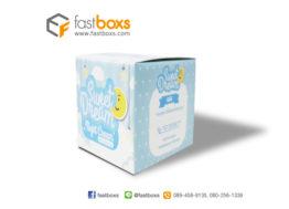 กล่องครีมสีฟ้า